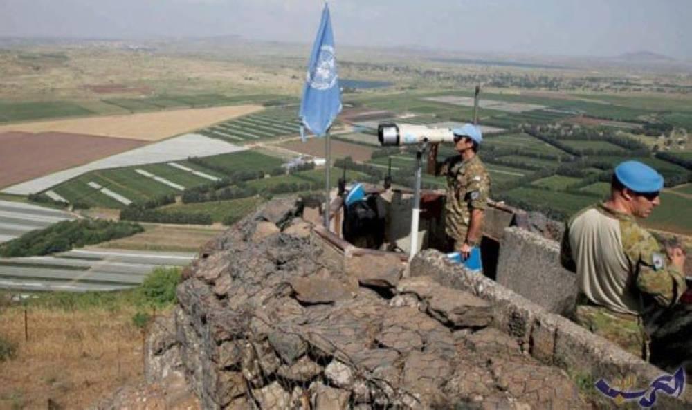 مراقبون دوليون في الجولان السورية المحتل( الوطن)