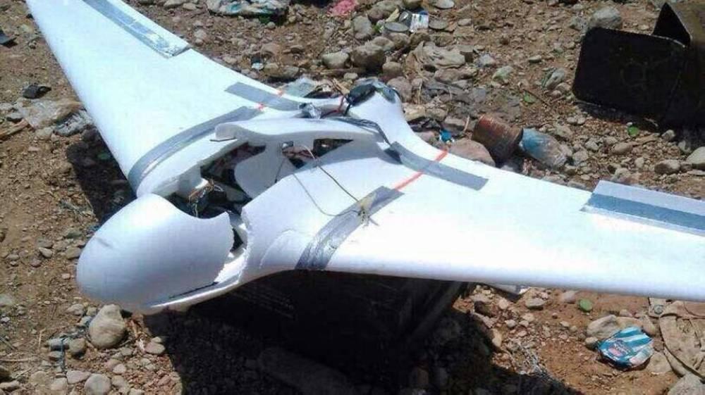 إحدى الطائرات المسيرة التي أسقطت سابقا (الوكالات)