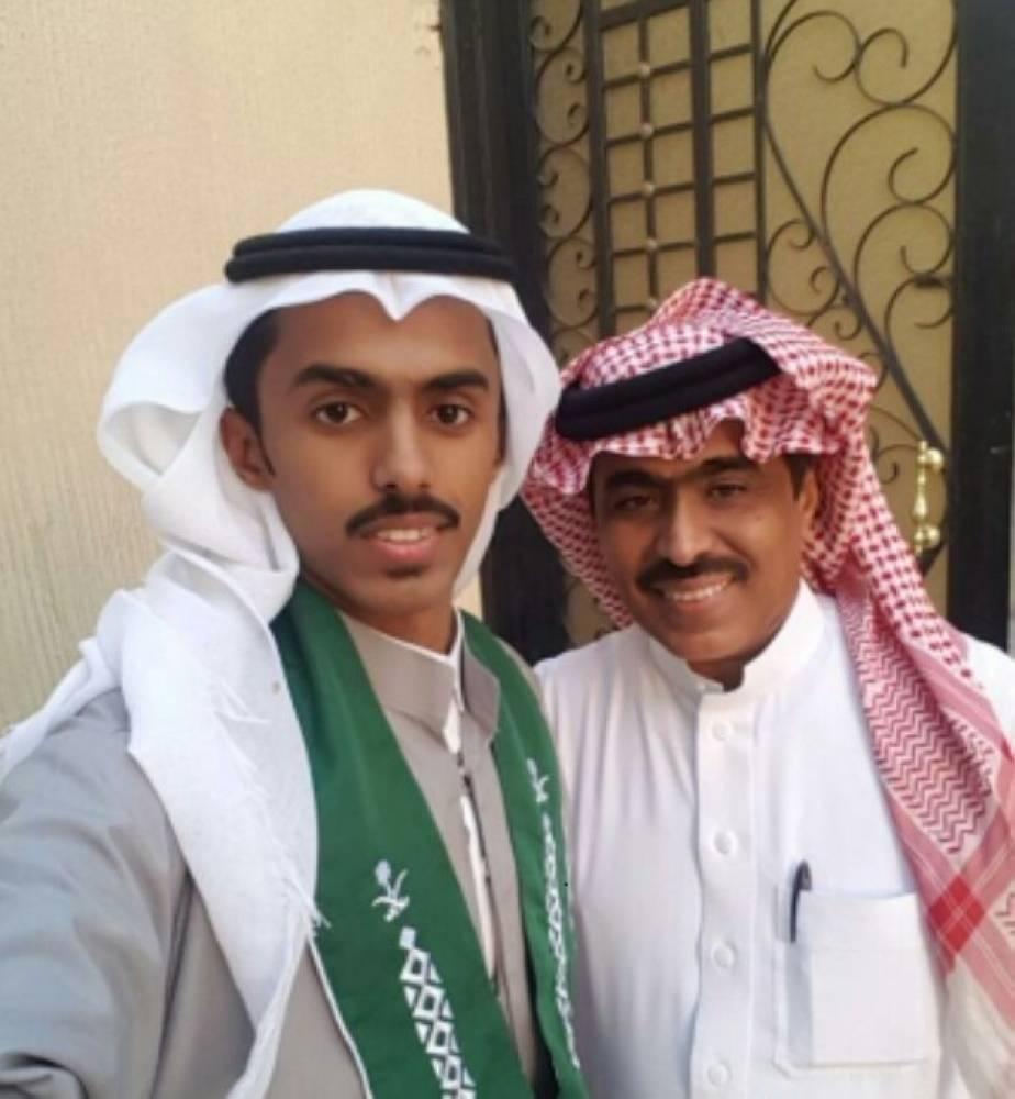 عبدالله البارقي ونجله حسن