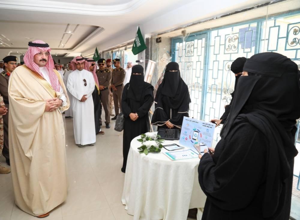 جانب من زيارة الأمير تركي بن طلال لمحايل (الوطن)