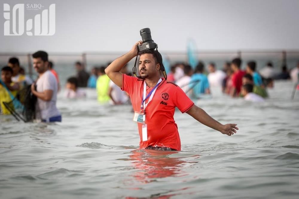 الصورة التي التقطت لمصور صحيفة الوطن يحيى مدخلي