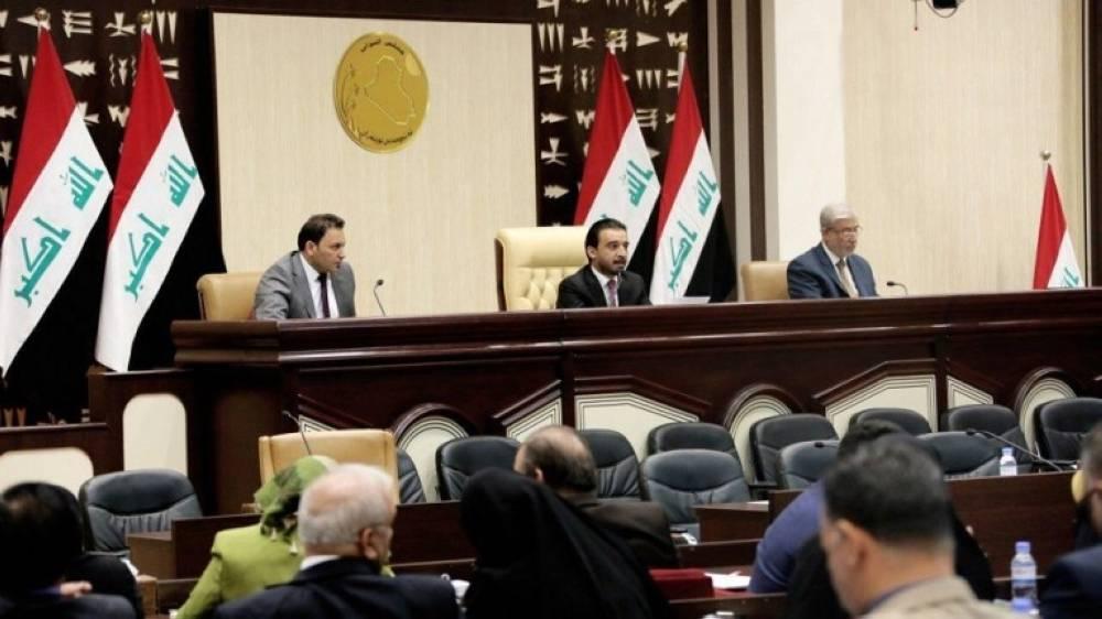 البرلمان العراقي في احدى الجلسات ( الوطن)