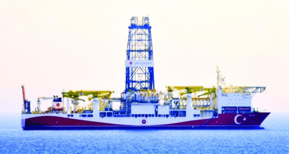 سفينة تركية للتنقيب عن الغاز في البحر المتوسط ( الوطن)