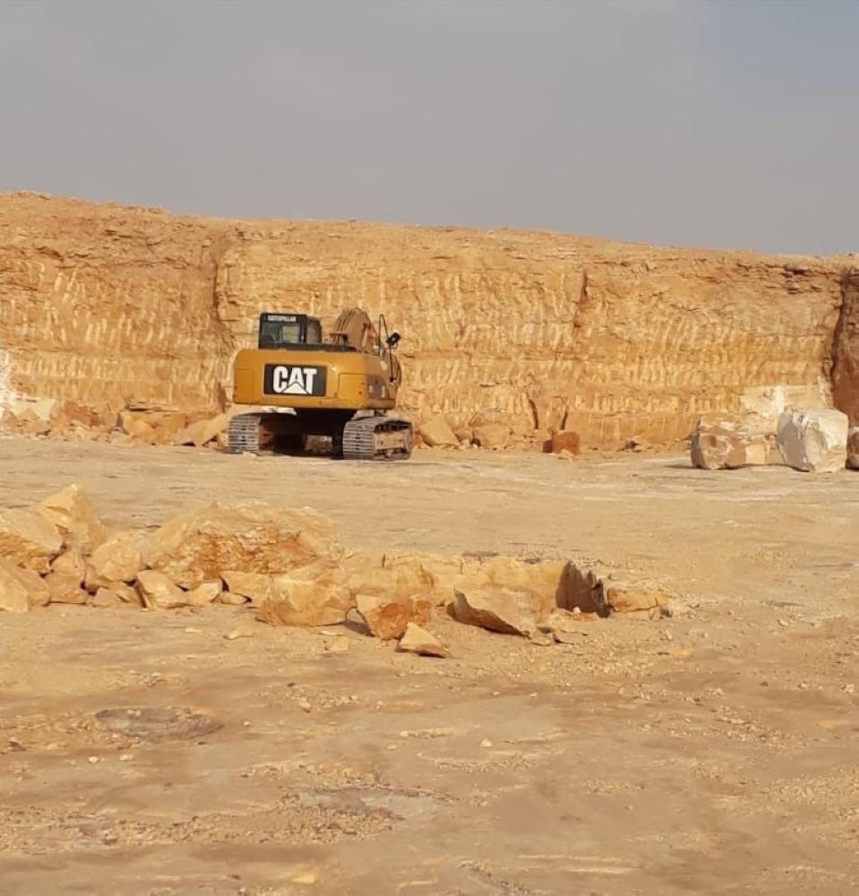 معدة كانت تعمل في المحجر (الوطن)