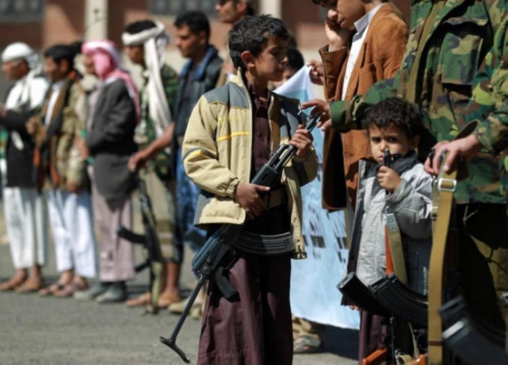 تجنيد الحوثيين للأطفال شرط الحصول على وجبة إفطار صائم ( الوطن )