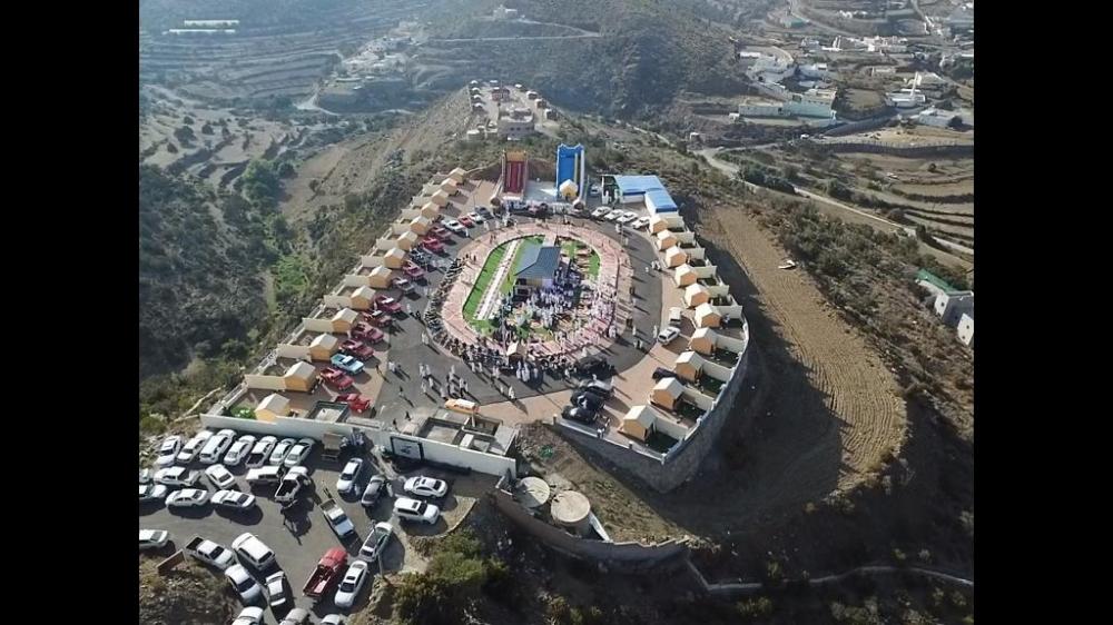 مشروع كيان بني مازن تجربة سياحية على قمة الجبل جريدة الوطن السعودية
