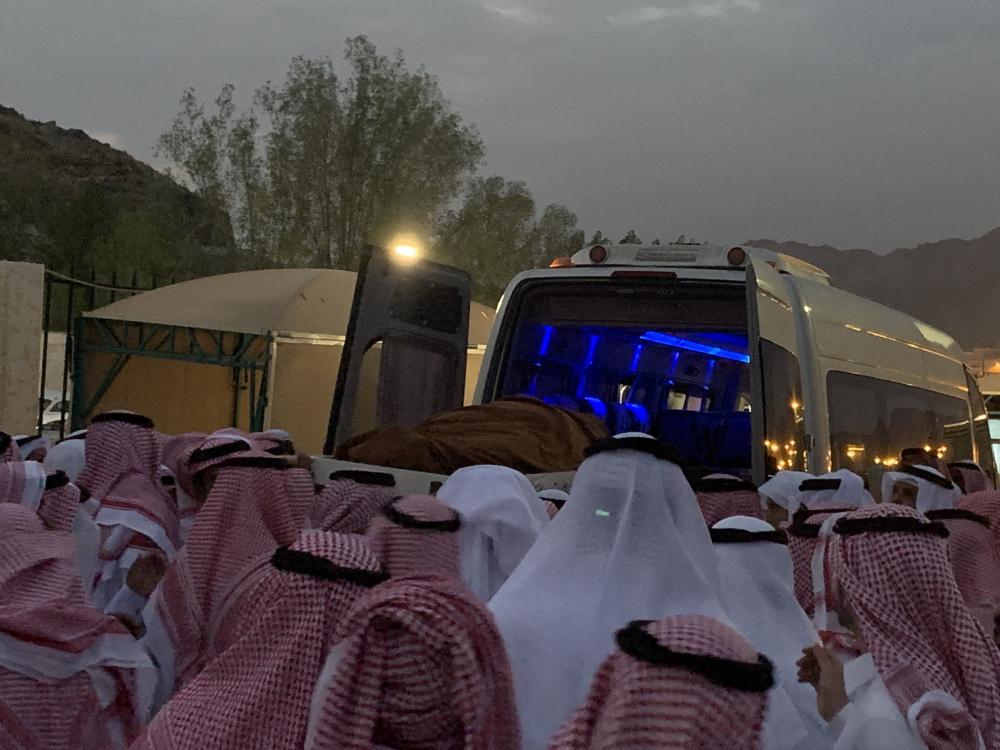 تشييع مدير تعليم مكة عبدالله الثقفي (تصوير: فهد علي)