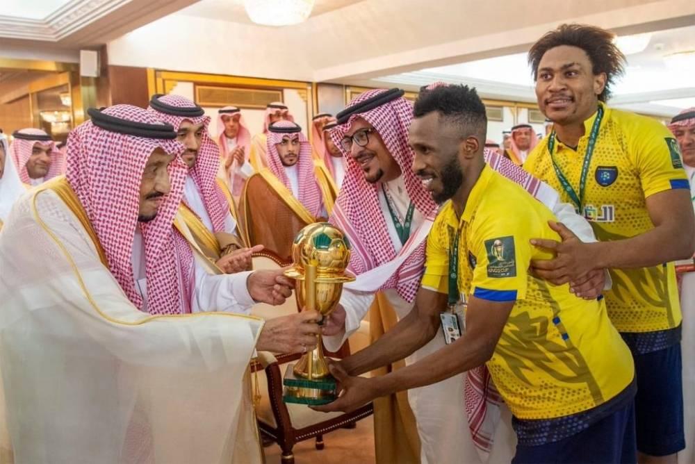 التعاون بطل كأس الملك