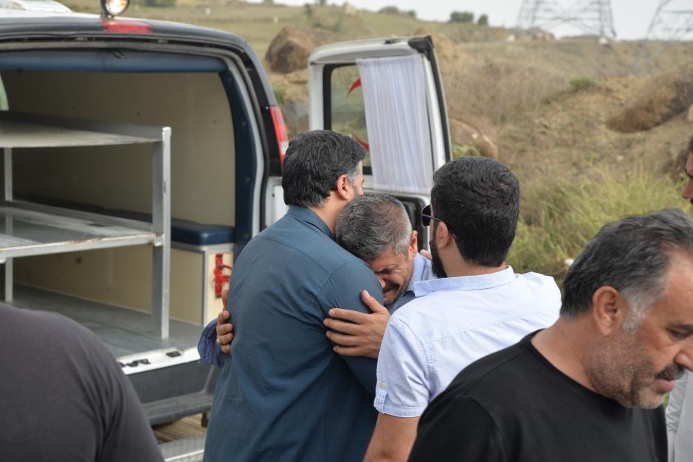 جانب من تشييع الفقيد (تصوير: عبدالله الشهري)