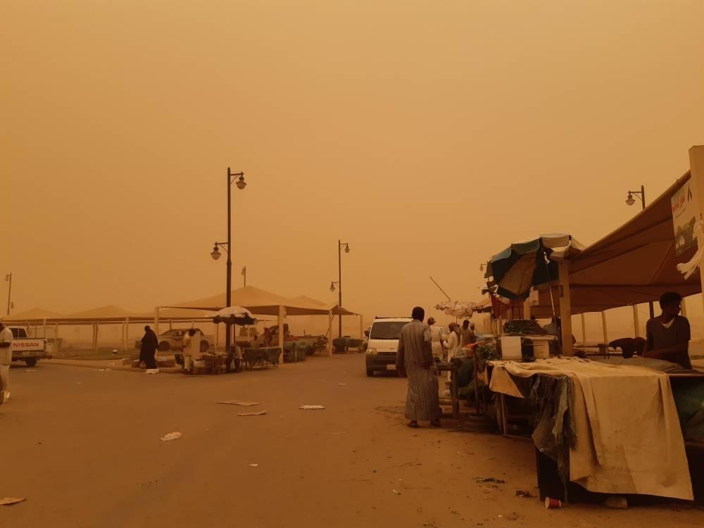 من غبار جازان (تصوير: عبدالله سهل)
