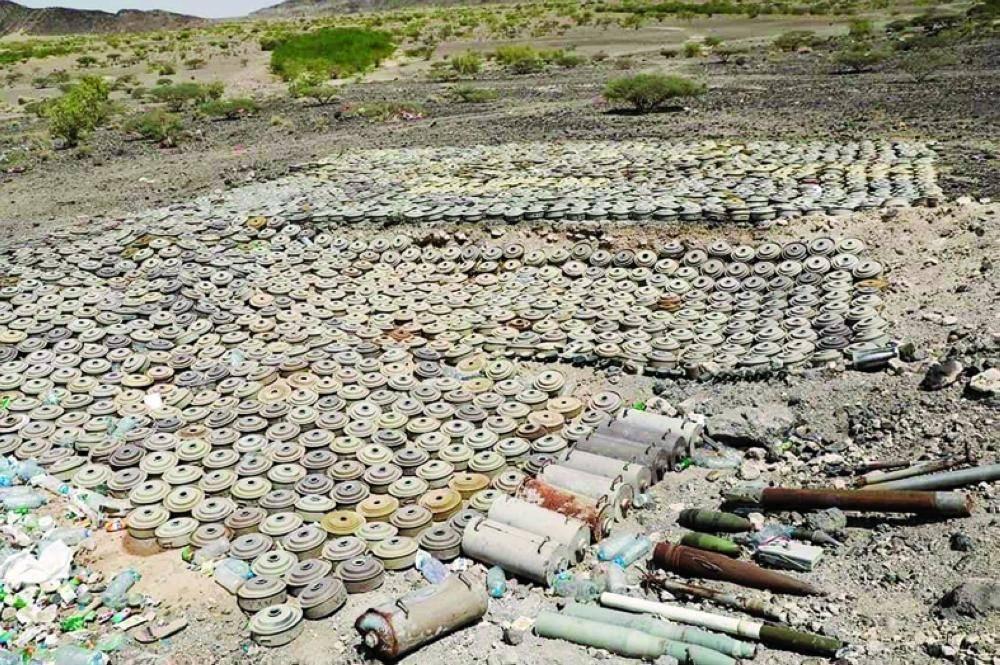114 مليون ريال لتمديد مشروع مسام لنزع الألغام في اليمن