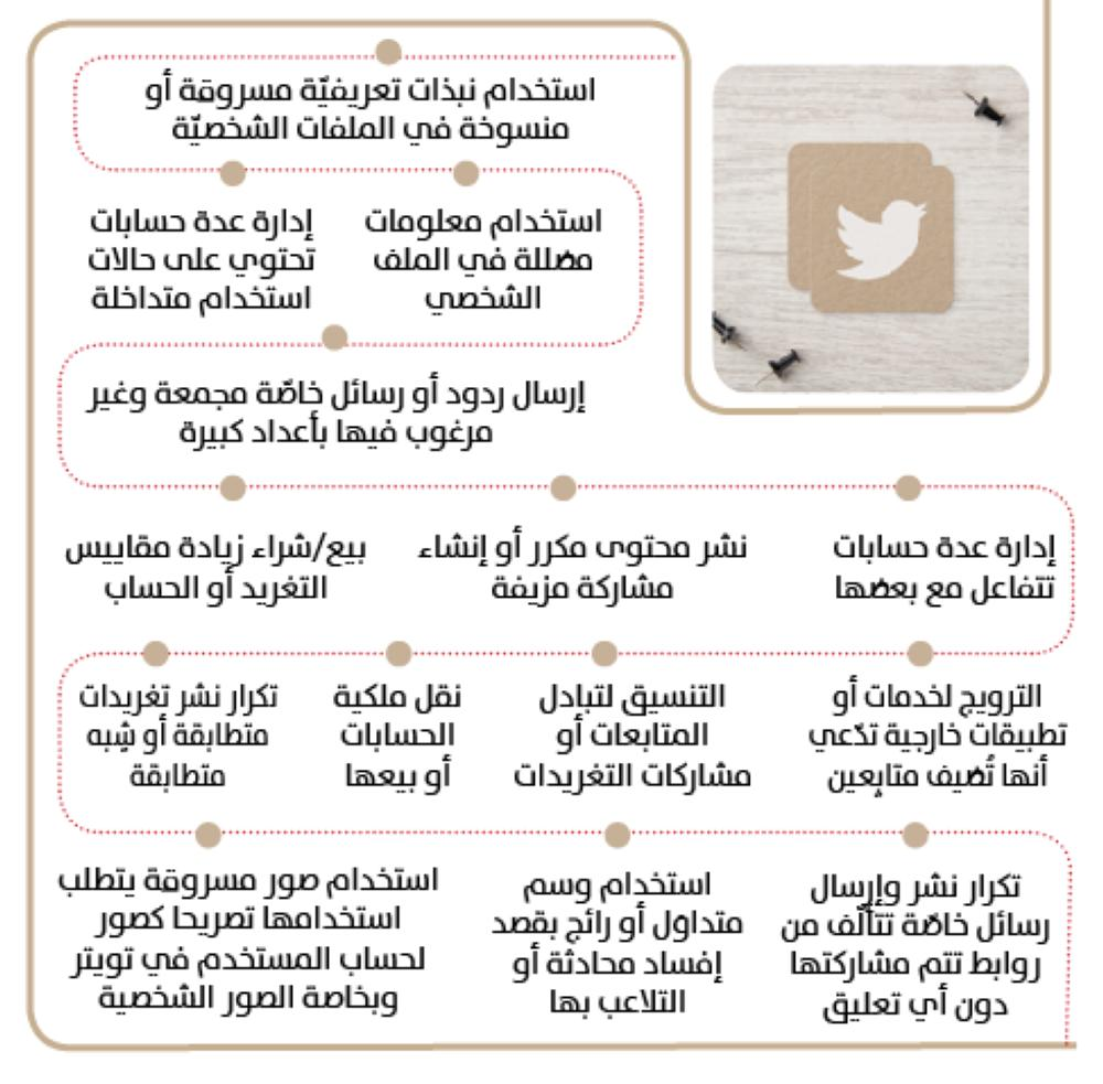 14 مخالفة تغلق حسابك في Twitter جريدة الوطن السعودية