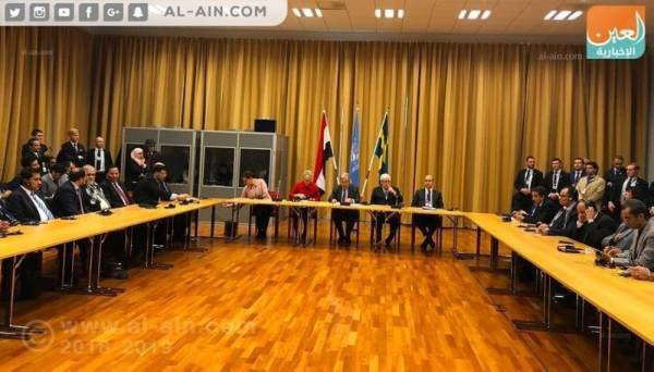 آخر محادثات السلام بين الفرقاء اليمنيين في ستوكهولم (الوكالات)