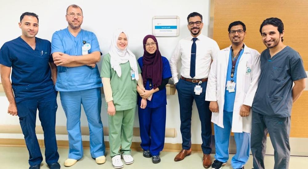 الفريق الطبي بمدينة الملك عبدالله
