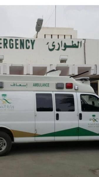 مستشفي تبالة العام يستقبل ١٥ حالة اثر حادث مروري