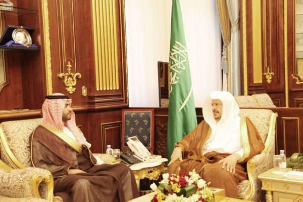 رئيس مجلس الشورى يستقبل السفير المعين لدى البحرين