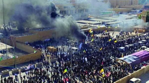 محاولة اقتحام السفارة الأميركية في بغداد