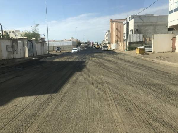 شوارع ممهدة (تصوير: يحيى كميت)