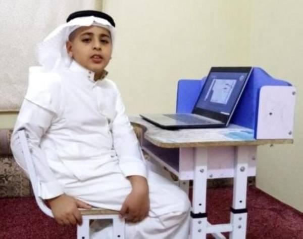 عمار علي الشهراني (طلاب فئة طيف التوحد)