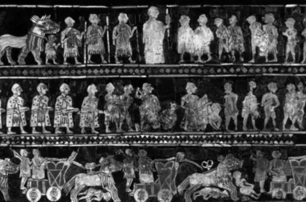 معركة العربات السومرية على مستوى مدينة أور، حوالي2500 قبل الميلاد
