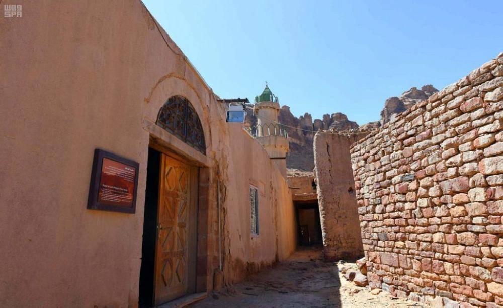 مسجد العظام أحد المساجد التاريخية في العلا