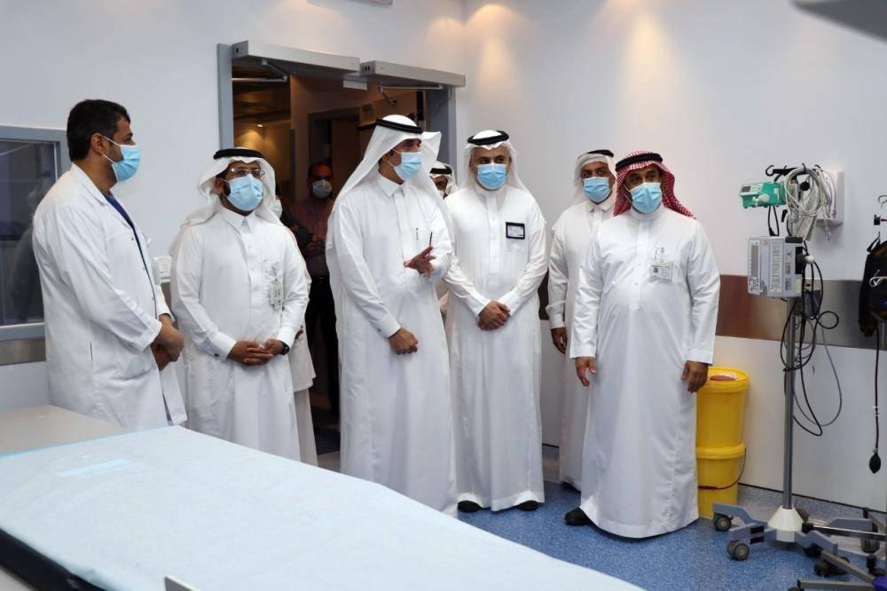 وحدة الأشعة التداخلية في مستشفى الملك فهد بالأحساء