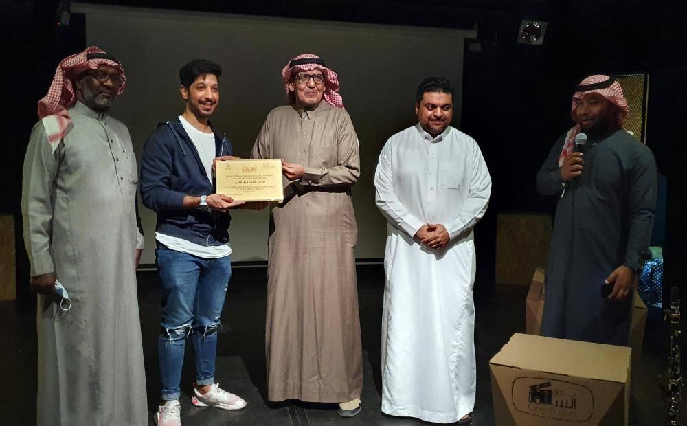 تكريم محمد نبيل في جمعية الثقافة والفنون في الأحساء