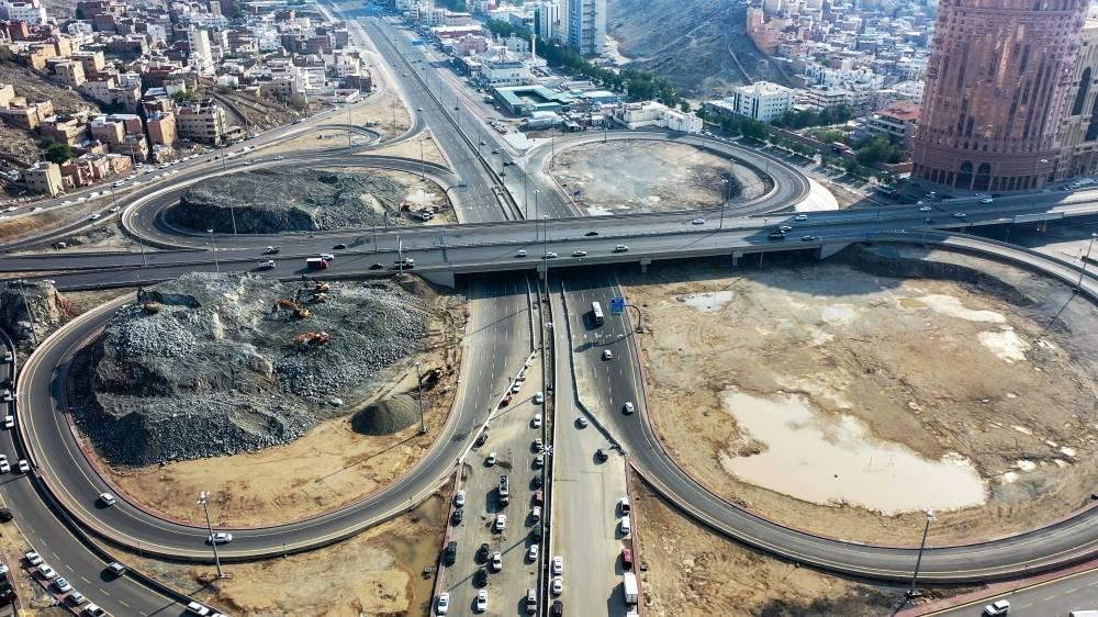 طريق الدائري الثاني المرحلة الأولى تقاطع الكعكية  - جرهم -الطندباوي