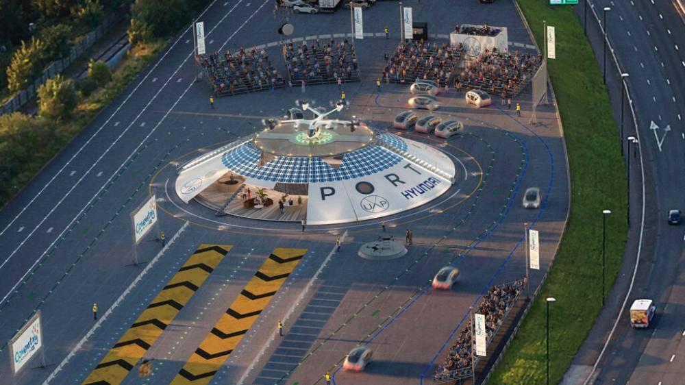 أول مطار في العالم للسيارات الطائرة