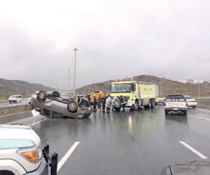 %75 من الحوادث المرورية ضحاياها شباب