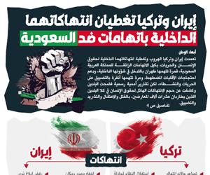 إيران وتركيا تغطيان انتهاكاتهما الداخلية باتهامات