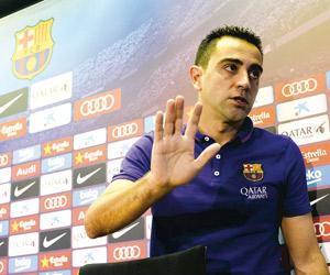 تشافي: سأعود إلى برشلونة مدربا
