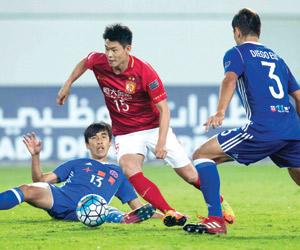 موقعة صينية تلهب ربع النهائي