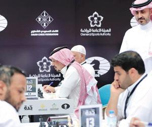 300 لاعب يتنافسون على لقب بطولة جدة الدولية للشطرن