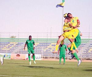 الطائي يخطف صدارة دوري الأمير فيصل بن فهد