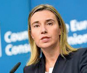 الممثلة العليا للاتحاد الأوروبي مدعوة للمشاركة