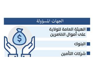 3 جهات لحفظ  أموال القاصرين