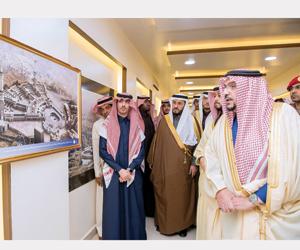 أمير القصيم يفتتح معرض عمارة الحرمين الشريفين