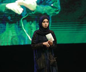 سرطان الدم تحكي قصتها في مؤتمر دولي