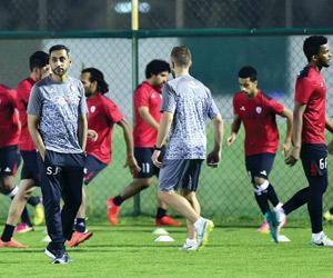 الجابر يصارح لاعبيه بأخطاء الخليج