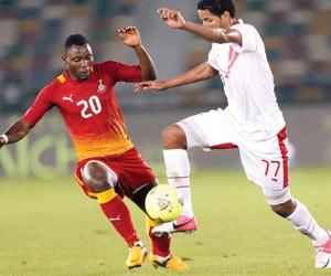 عنفوان غانا يهدد آمال الكونجو