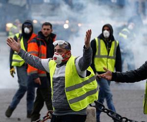 منع السترات الصفراء من التظاهر في الشانزليزيه غدا