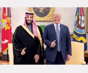 قمة ولي العهد وترمب تؤسس لزيارة الملك إلى أميركا