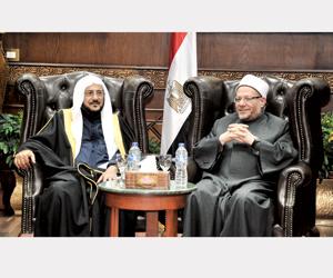 مفتي مصر يشدد على دور المملكة الرائد في إدارة الحج