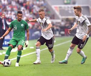 الأخضر يخسر أمام ألمانيا في آخر تجاربه للمونديال