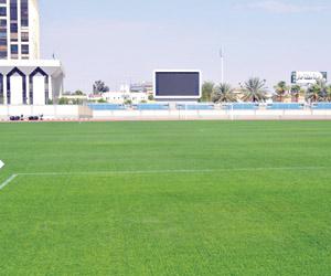 ملعب مدينة الأمير عبدالعزيز بن مساعد يظهر بحلة جدي