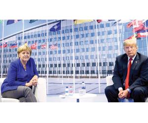 ترمب يفتح النار على حلفائه الأوروبيين