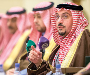 فيصل بن مشعل: لا راية تعلو على راية التوحيد
