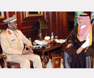 نائب وزير الدفاع يستقبل ملحقين عسكريين