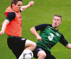 أيرلندا متواضعة الخبرة  فى امتحان كرواتيا